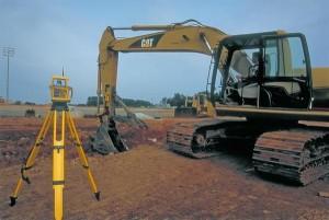 SITECH Trimble GL700 Laser with CAT Excavator