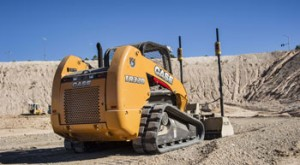 SITECH Trimble 2D Grading System on a Skid Steer