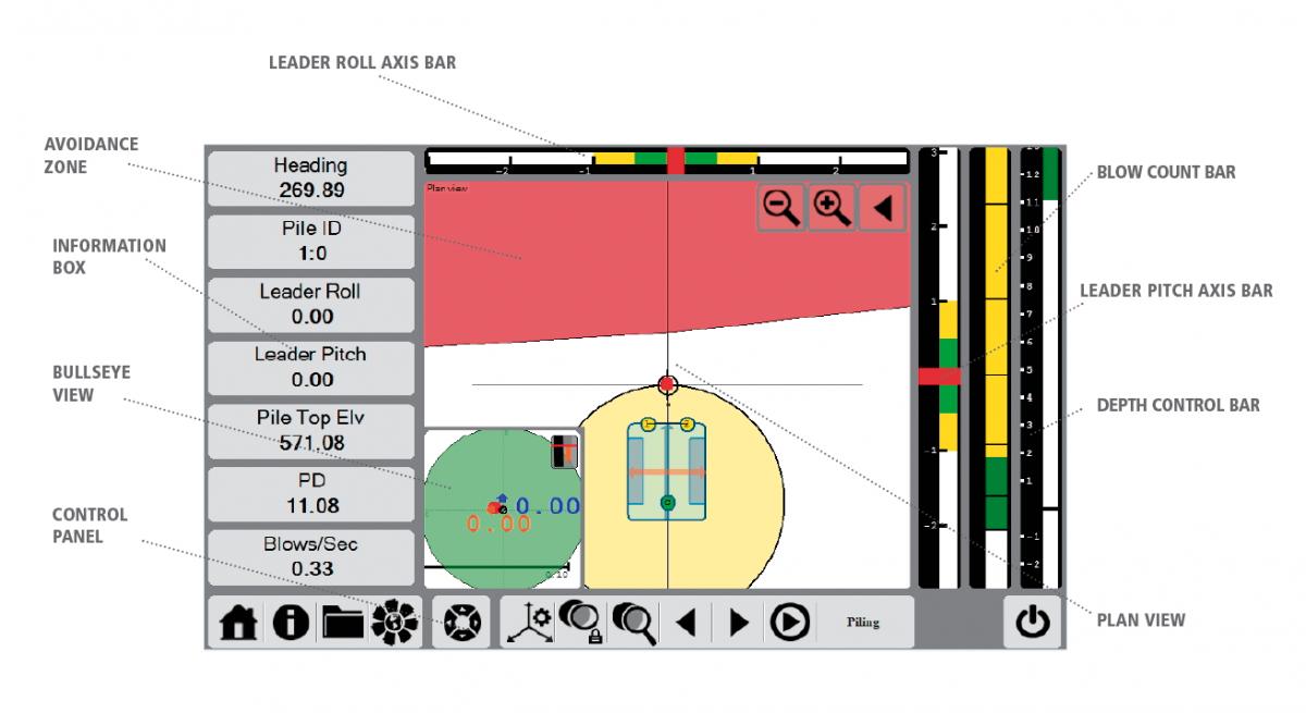 DPS900 Piling System Screenshot