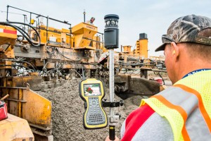 Trimble PCS900 Paving Control System for Slipform Pavers