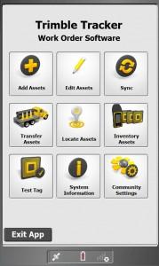 Screenshot - Trimble Tracker 01