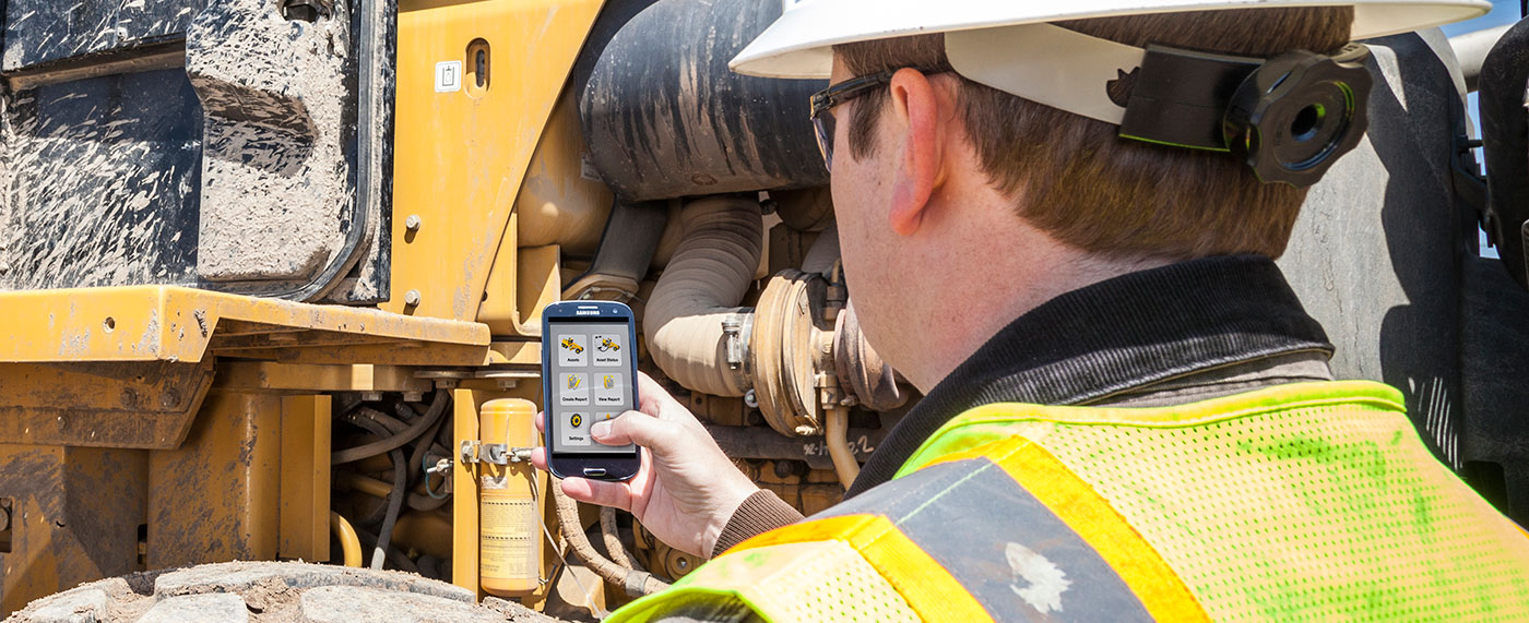 SITECH Trimble Connected Site Solutions RFID Tracker