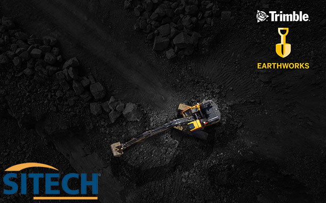 Sitech Trimble Earthworks For Excavators
